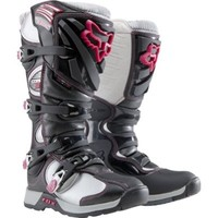 Fox Racing Comp 5 Ladies Boots Ladies Size 8 Black/Pink