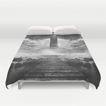 Some day soon Duvet Cover by HappyMelvin