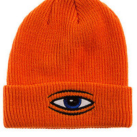 The Sect Eye Dock Beanie in Orange