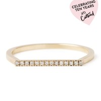 Catbird :: TEN YEAR COLLECTION :: City Lights Ring, White Diamonds