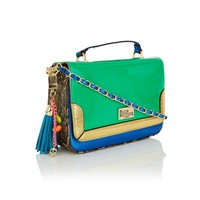 Small structured satchel Multi-colour - What's New