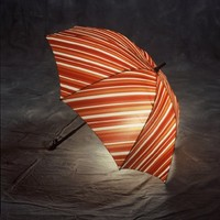 Bright Night Monsoon BN-007 Illuminated Lightweight Umbrella