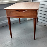 End Table, Mid Century, Danish Modern