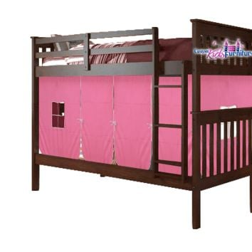 Stella Bunk Bed for Girls with Tent