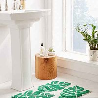 All Over Palm Bath Mat - Urban Outfitters