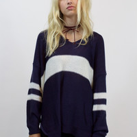 Friday Night Lights Sweater (NAVY)