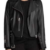 ALLSAINTS Balfern Leather Biker Jacket | Nordstrom