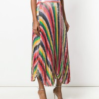 ALICE+OLIVIA Katz Sunburst pleat skirt
