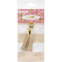 Gold Tassel Planner Charm - Webster's Pages - 513871