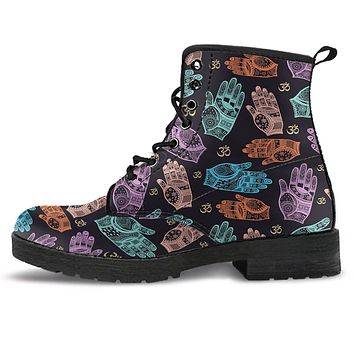 Colorful Om Boots