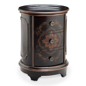 Madison Park Drum Accent Table (Brown)