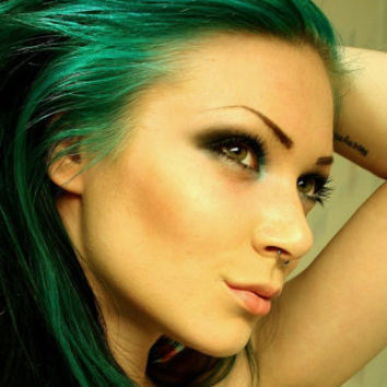 Pine Green Hair Chalk - Hair Chalking Pastels - Temporary Hair Color - Salon Grade - 1 Large Stick