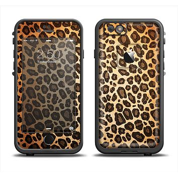 The Vibrant Leopard Print V23 Apple iPhone 6 LifeProof Fre Case Skin Set