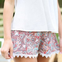 Altar'd State Coral Reef Shorts | Altar'd State