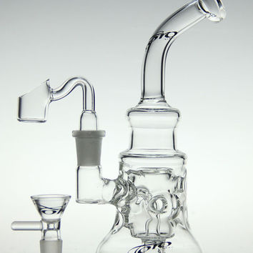 scientific-glass bong !glass recycler toro 2015 new glass bong oil rig diamond glass pipe with quartz nail and toro bowl 14.4mm joint
