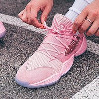 Adidas Harden Vol.4 Fashion Men Casual Basketball Shoes Sport Sneakers Pink