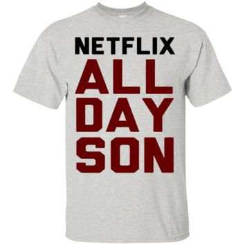 NETFLIX ALL DAY SON T-SHIRT