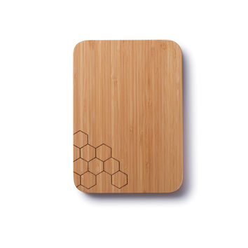 Honeycomb Bamboo Cutting Board