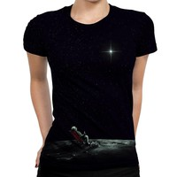 Space Chill Womens T-Shirt
