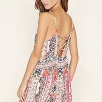 Patrons of Peace Cami Dress   Forever 21 - 2000221651