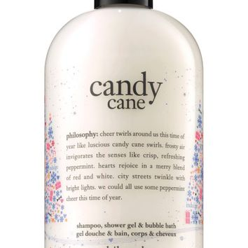 philosophy candy cane shampoo, shower gel & bubble bath (Limited Edition) | Nordstrom