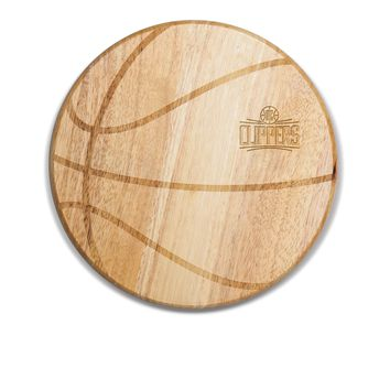 Los Angeles Clippers - 'Free Throw' Basketball Cutting Board & Serving Tray by Picnic Time