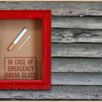 Smokers Gift Emergency Case Funny Birthday Gift by ClosetCat
