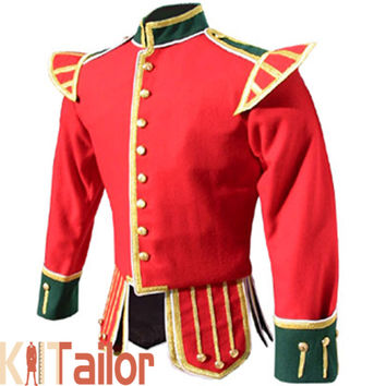 TWO TONED DOUBLET JACKET CUSTOM MADE
