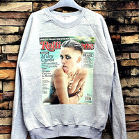 Miley Cyrus Sweatshirt Crewneck Sweater Unisex