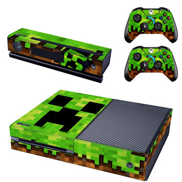 Minecraft console xbox one skin sticker