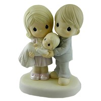 Precious Moments GROW IN THE LIGHT OF THE LOVE Porcelain Baptism 830014
