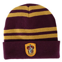 Harry Potter Gryffindor Beanie Hat by Elope: WBshop.com - The Official Online Store of Warner Bros. Studios