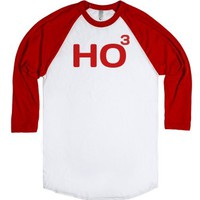 Ho to the power of 3 - HO HO HO - Merry Christmas T-Shirt-T-Shirt