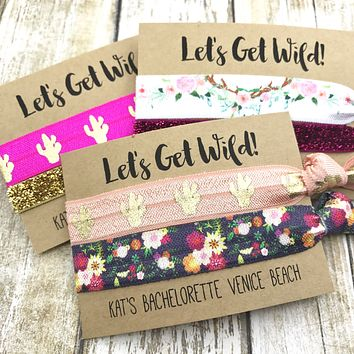 LET's GET WILD Bachelorette Party Favors | To Have and To Hold