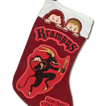 Naughty Krampus Christmas Stocking