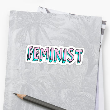 'feminist' Sticker by alexandra552