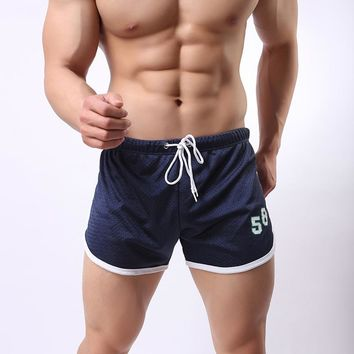 Mens Training Shorts Board Shorts Quick Dry Mesh Short Pants Fitness Bodybuilding Sweatpants Running Active Male Gym Sport Boys