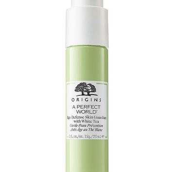 Origins A Perfect World Age-Defense Skin Guardian Serum With White Tea, 1 oz & Reviews - Skin Care - Beauty - Macy's
