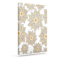 """Pom Graphic Design """"Floral Dance"""" Outdoor Canvas Wall Art"""