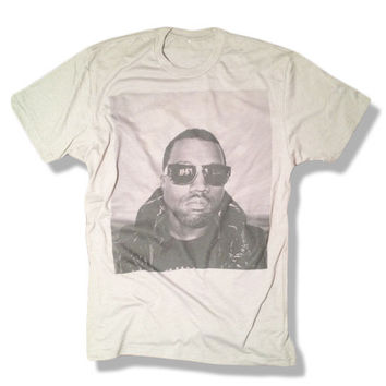 Kanye West Shirt - Gray - Limited Print Yeezy Jay Z Drake Lil Wayne Hip Hop Top Clothing 777