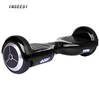 Likary Smart Two Wheel Self Balancing Electric Scooter, Safer and Easier to Learn, Only 10Kg (Black)