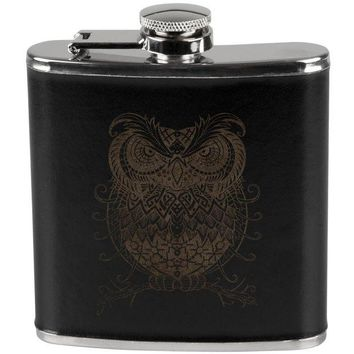 ONETOW Trippy Owl Flask