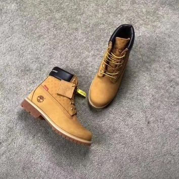 DCCKIG3 Timberland x supreme Brown Boots