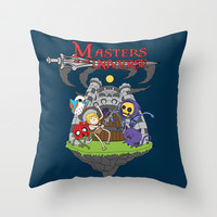 MASTER OF THE UNIVERSE Throw Pillow by Maioriz Home