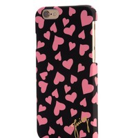 Black Plush Hearts Iphone 6 by Juicy Couture, O/S