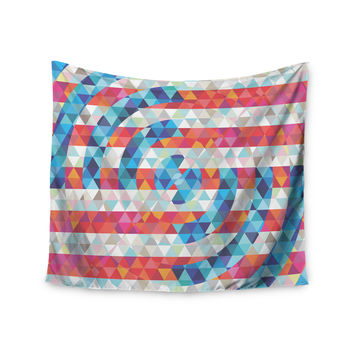 """Fimbis """"Abstract America"""" Digital Wall Tapestry"""