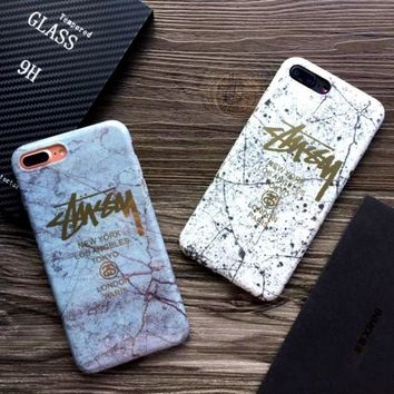 Stussy iphone 7 smartphone case 7P iphone 6 plus covers 6 generations soft shell