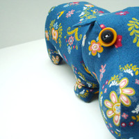 My Folklore Hippo by KittyKittyCrafts on Etsy