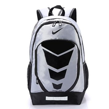 """Nike"" Pattern Casual Travel Daypack Laptop Shoulder School Business Backpack Bag"