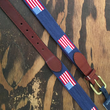 American Flag Traditional Belt - 50% Off